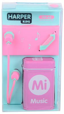 Гарнитура Harper Kids HK-66 розовый H00001211 наушники harper kids hk 66 pink
