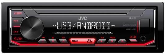 Автомагнитола JVC KD-X152 USB MP3 FM RDS 1DIN 4x50Вт черный