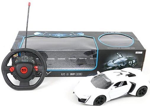 Машинка на радиоуправлении Shantou Gepai Sport Car пластик, металл от 3 лет белый военный автомобиль на радиоуправлении tongde в72398 пластик от 3 лет зелёный