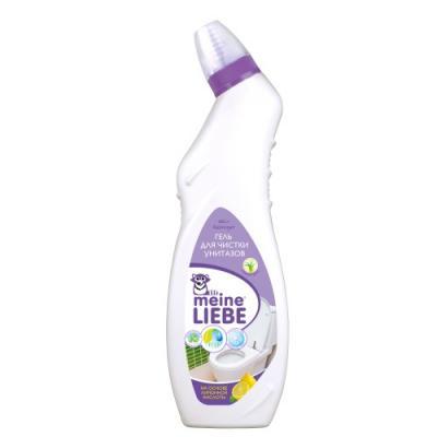 цена Meine Liebe Гель для чистки унитазов, лимон 750мл онлайн в 2017 году