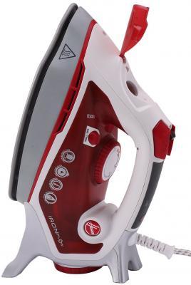Утюг Hoover TIF2800/1 011 2800Вт красный белый 39600176 цена и фото