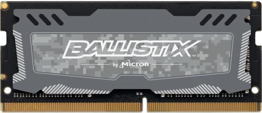 Оперативная память для ноутбуков SO-DDR4 16Gb PC4-21300 2666MHz Crucial BLS16G4S26BFSD