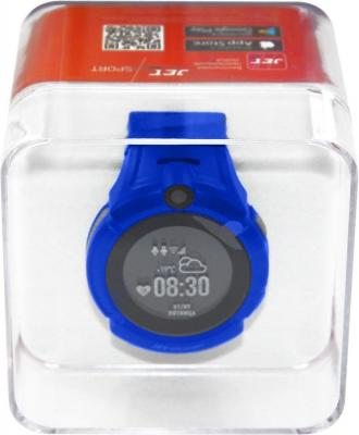 Смарт-часы Jet Kid Sport синий 2017 new mini facial skin care water oxygen jet peeling machine water jet cleaning machine for beauty salon