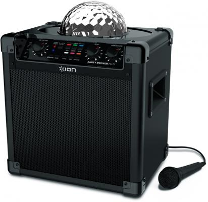 Портативная акустика ION Audio Party Rocker Plus черный ion audio vinyl motion deluxe