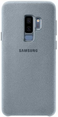 Чехол (клип-кейс) Samsung для Samsung Galaxy S9+ Alcantara мятный (EF-XG965AMEGRU) клип кейс ibox fresh для samsung galaxy s5 mini черный