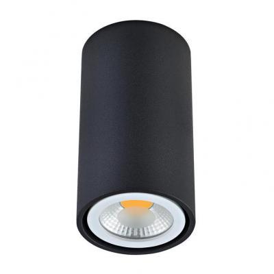 Потолочный светильник Donolux N1595Black/RAL9005 стойка 19 hyperline orv1 37 ral9005