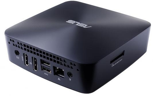 Неттоп ASUS VivoMini UN65U-M243Z Intel Core i3-7100U 4Gb SSD 128 Intel HD Graphics 620 Windows 10 Professional синий 90MS00W1-M02430