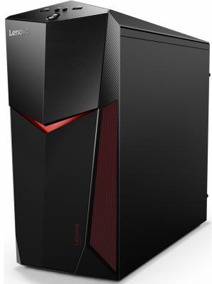 Системный блок Lenovo Legion Y520T-25IKL i5-7400 3.0GHz 8Gb 1Tb 16Gb SSD GTX1050Ti-4Gb DVD-RW Win10 черный 90H7008CRS