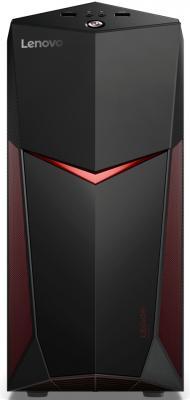 Фото Системный блок Lenovo Legion Y520T-25IKL i7-7700 3.6GHz 16Gb 2Tb 16Gb SSD GTX1060-3Gb DVD-RW Win10 черный 90H700BDRS системный блок lenovo legion y920t 34ikz i7 7700k 4 2ghz 16gb 2tb 256gb ssd gtx1080 8gb dvd rw win10 черный 90h40033rs