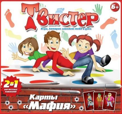 Настольная игра Татой для вечеринки Твистер+карты Мафия 10010