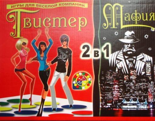 Настольная игра Бэмби для вечеринки Мистер-Твистер+Мафия 7074