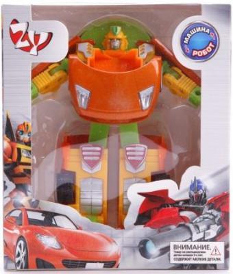 Машина-трансформер Наша Игрушка Робот-машина ZYB-B2726-4 hap p kid игрушка робот red revo 3578t