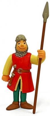 Фигурка Наша Игрушка Cредневековый воин с копьем 15 см LX Z5 фигурка bullyland оранжевый рыцарь с копьем на коне 13 см