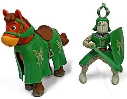 Фигурка Наша Игрушка Рыцарь на коне 17 см LX Z7