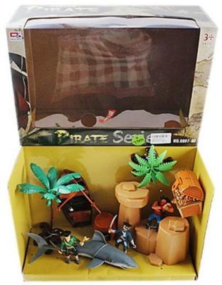 Купить Игровой набор Наша Игрушка Пиратский остров 0807-7, Детские фигурки