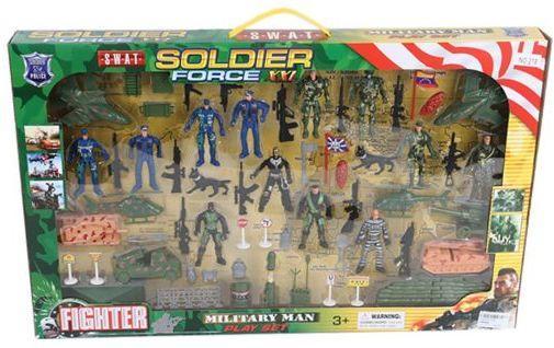 Игровой набор Наша Игрушка Военная полиция 218 игровые наборы наша игрушка игровой набор
