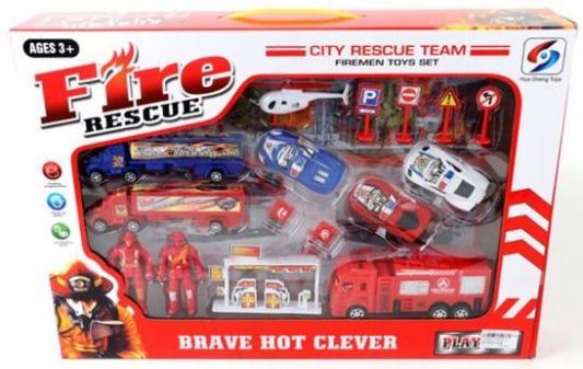 Игровой набор Наша Игрушка Пожарная охрана 9578-3 игровые наборы наша игрушка игровой набор