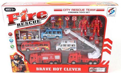 Игровой набор Наша Игрушка Пожарная охрана игрушка
