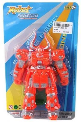 Фигурка Наша Игрушка Робот 20 см B10-26 hap p kid игрушка робот red revo 3578t