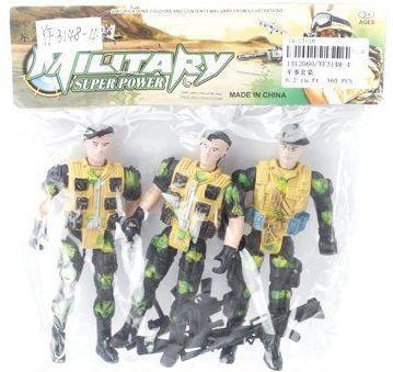 Купить Игровой набор Наша Игрушка Военный YF3148-4, Детские фигурки
