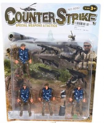 Игровой набор Наша Игрушка Военный 8082 игровые наборы наша игрушка игровой набор