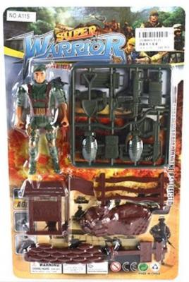 Игровой набор Наша Игрушка Военный A115 игрушка