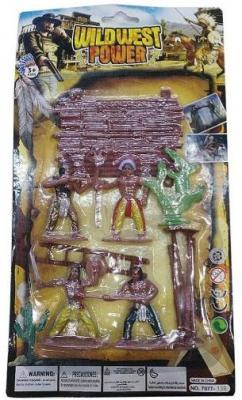 Игровой набор Наша Игрушка Индейцы 635458 индейцы и ковбои