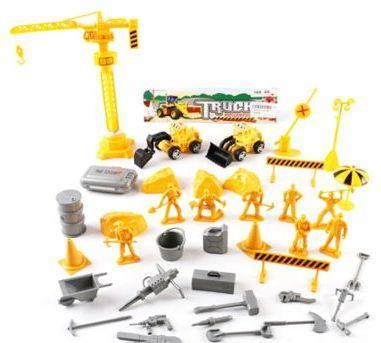 Игровой набор Наша Игрушка Строители 168-48 игровые наборы наша игрушка игровой набор
