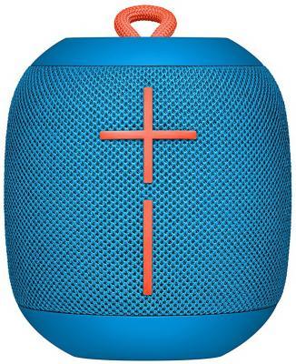 Портативная акустика Logitech Ultimate Ears Wonderboom синий 984-000852 портативная акустика logitech mx sound premium bluetooth speakers черный 980 001283