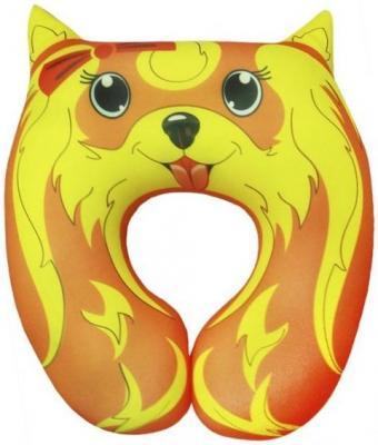 Антистрессовая подушка под шею Йорк оранжевый кот подушка игрушка антистресс кот спортсмен