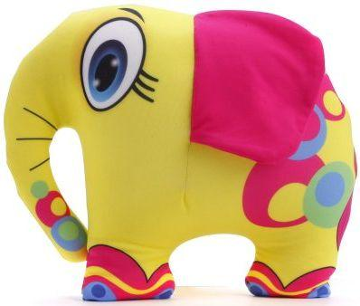 Антистрессовая подушка-игрушка Слон желтый оранжевый кот подушка игрушка антистресс кот спортсмен
