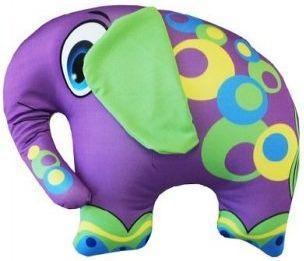 Антистрессовая подушка-игрушка Слон фиолетовый оранжевый кот подушка игрушка антистресс кот спортсмен