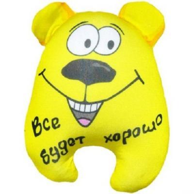 Антистрессовая игрушка Медведь Чапа оранжевый кот подушка игрушка антистресс кот спортсмен