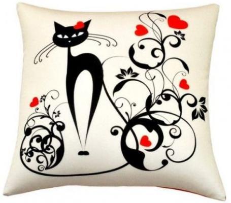 Антистрессовая подушка Завитки оранжевый кот подушка игрушка антистресс кот спортсмен