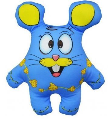 Антистрессовая подушка-игрушка Мышь Зося 04 оранжевый кот подушка игрушка антистресс кот спортсмен