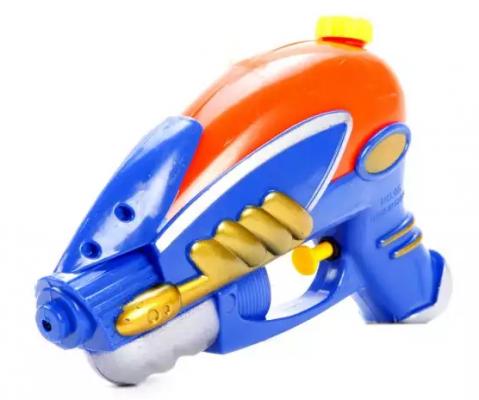 Купить Бластер водяной, пакет, в ассортименте, Наша Игрушка, Пластик, Для мальчиков, Игрушки для воды и пляжа