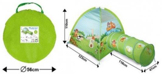 Игровая палатка Наша Игрушка Ферма 200176088 палатка игровая наша игрушка зоопарк