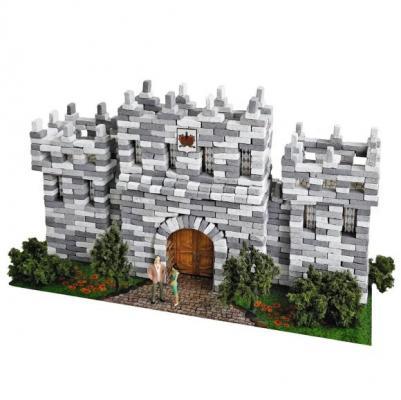 Конструктор Архитектурное моделирование Графский замок 980 элементов Л-20