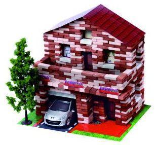 Конструктор Архитектурное моделирование Дом с мансардой 805 элементов Л-03
