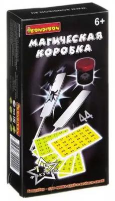 Фокусы Магическая коробка №1, 15 фокусов игра настольная развивающая для детей bondibon фокусы магическая коробка 2