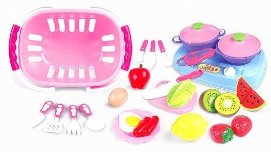 Набор продуктов Наша Игрушка Набор продуктов WD-Q06 игрушка mehano 1 f101 набор рельс