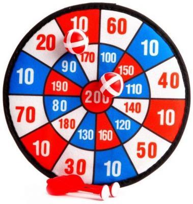 Спортивная игра Наша Игрушка дартс Дартс детский SPK1018278YH детский дартс battlefield soft 7 2cm