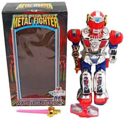 Интерактивный робот Наша Игрушка Робот со звуком светящийся 9188 игрушка