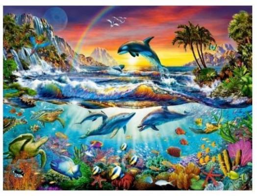 Купить Пазл Кастор Райская бухта 3000 элементов C-300396, Пазлы-картины