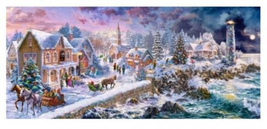 Пазлы 600 Новогодний праздник цены онлайн