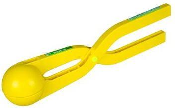 Игрушка для лепки снежков ACTIVE прорезиненная ручка, желтый