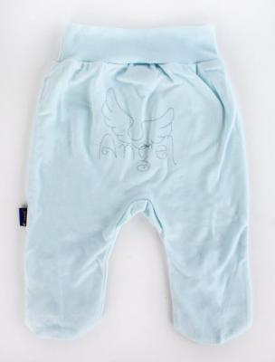Купить Ползунки р.80 голубой, Котенок, Ткань, Для мальчиков, Ползунки и штанишки