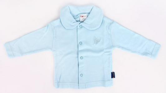 Купить Кофта р.74 голубой, Котенок, Ткань, Для мальчиков, Кофточки для новорожденных