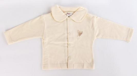 Купить Кофта р.74 желтый, Котенок, Ткань, Для всех, Кофточки для новорожденных