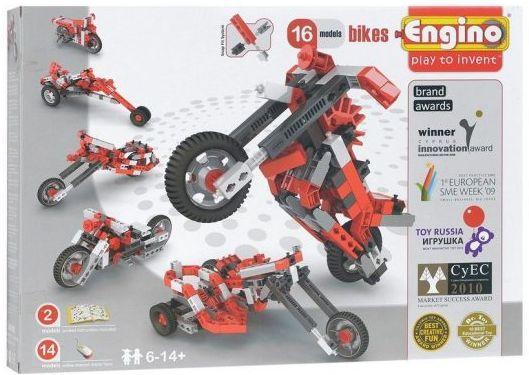 Купить Конструктор ENGINO Мотоциклы PB42(1632), Мягкие конструкторы для детей